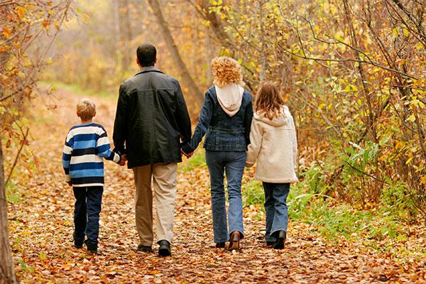 walking-in-woods